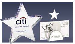 Promotional Star Shaped Award