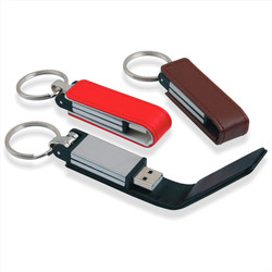 USB with leather cover
