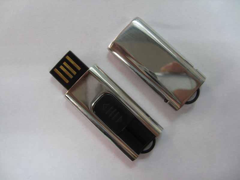 USB with metal coating