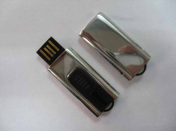 USB with metal coating