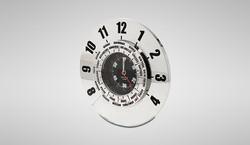 Metal World Timer Clock
