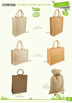 Other Jute bag options