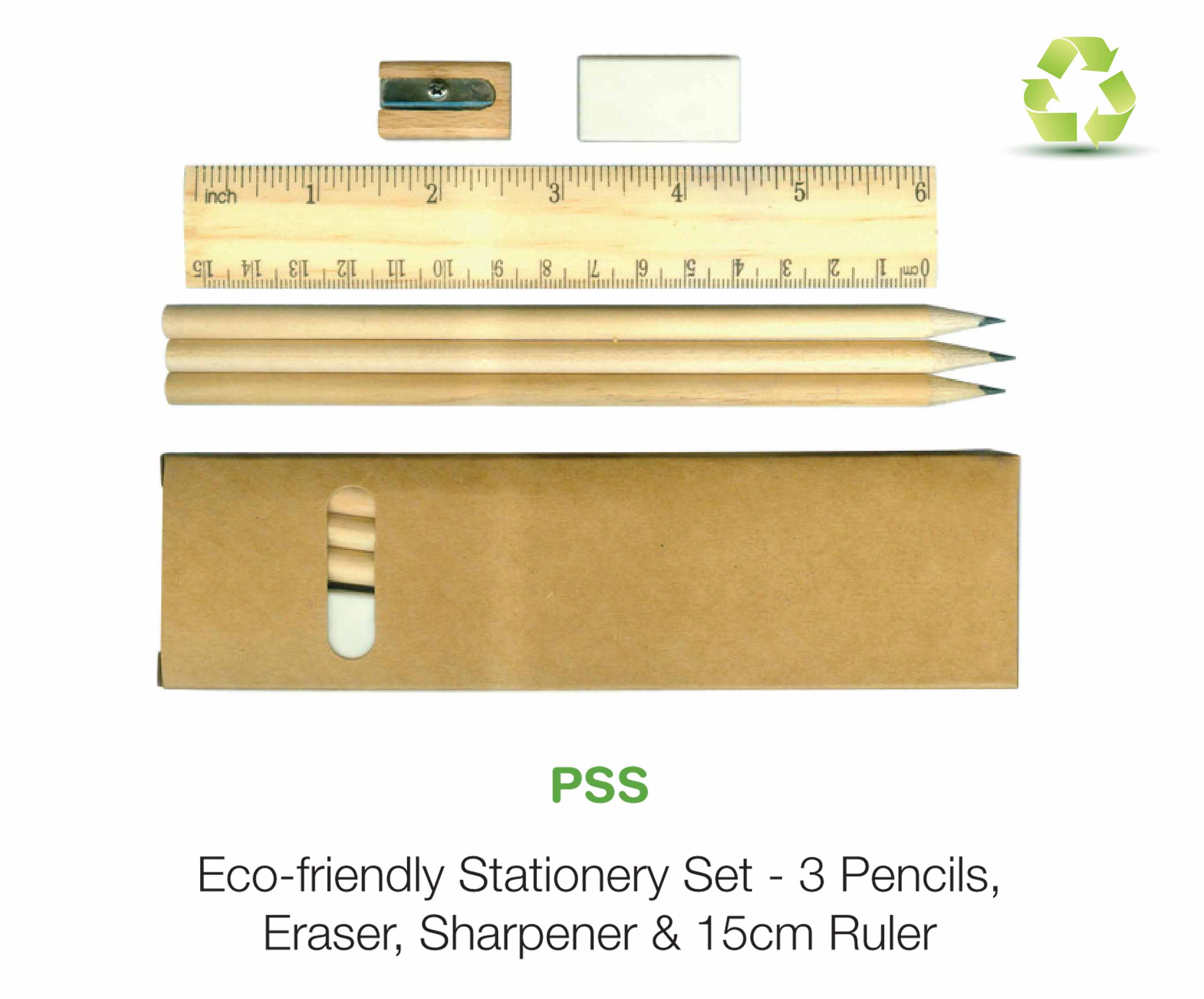 Eco friendly Stationery Set