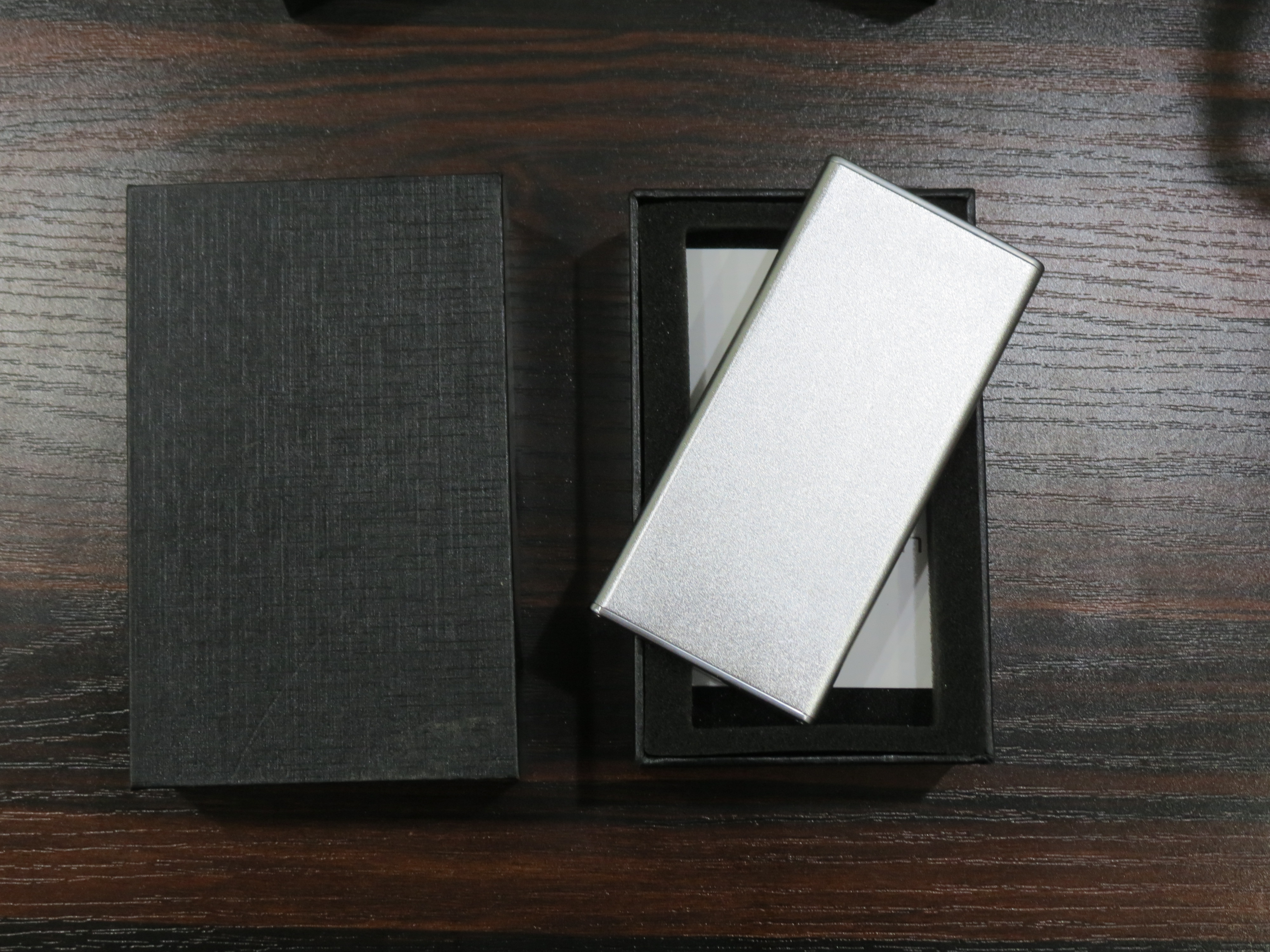 Sleek Silver Power Bank