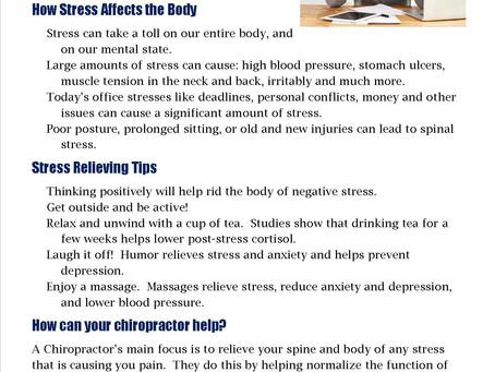 Symptom of the Week: Stress