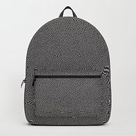 Making Marks Textured Surface Navy/Pink Backpack