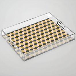 Making Marks Cube Illusion Dark Acrylic Tray