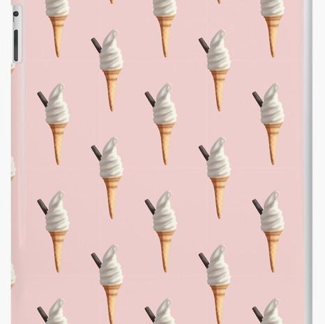 Ice Cream iPad Snap Case