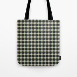 Making Marks Dots Navy Mustard Grey Tote Bag