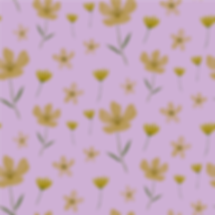 Yellow Flowers on Purple