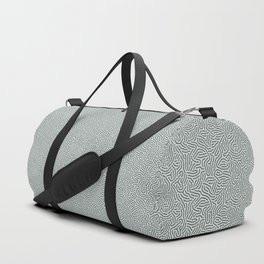 Making Marks Textured Surface Grey Navy Duffle Bag