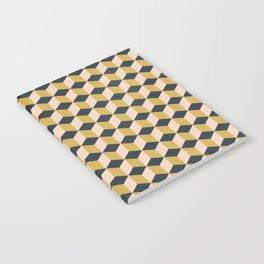Making Marks Cube Illusion Dark Notebook