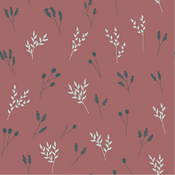 Pink Floral Branches #2