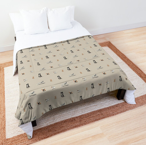 Dog Print Comforter