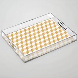 Making Marks Cube Illusion Light Acrylic Tray