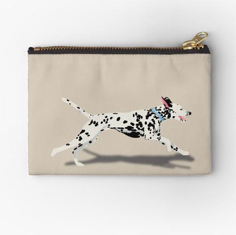 Dalmatian Zipper Pouch