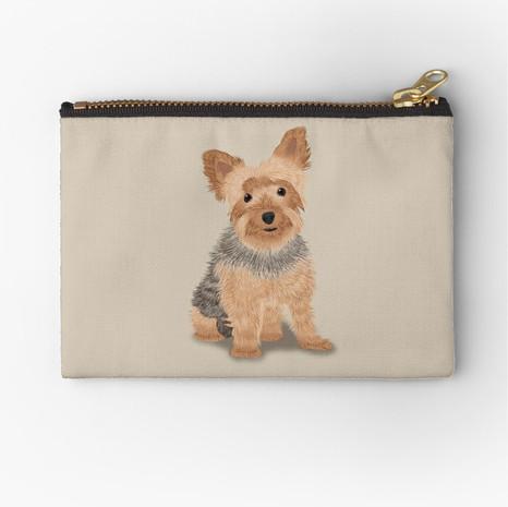 Yorkshire Terrier Zipper Pouch