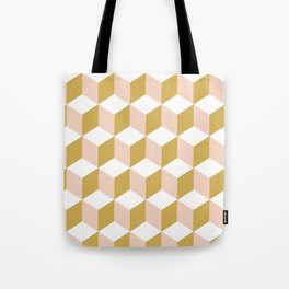 Making Marks Cube Illusion Light Tote Bag