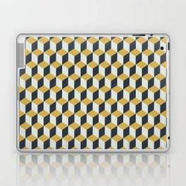 Making Marks Cube Illusion Blue Tablet & Laptop Skin