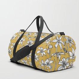 Mustard Glory of the Snow Duffle Bag