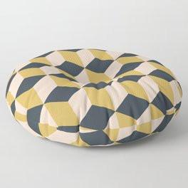 Making Marks Cube Illusion Dark Floor Pillow