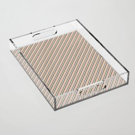 Making Marks Diagonal Stripes Acrylic Tray