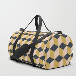 Making Marks Cube Illusion Dark Duffle Bag