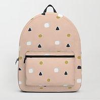Making Marks Ditsy Shapes Backpack