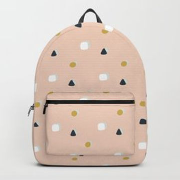 Making Marks Ditsy Shapes Backpack