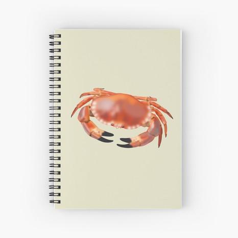 Crab Spiral Notebook