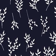 Navy/White Branches