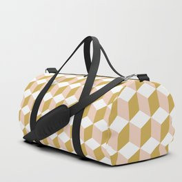 Making Marks Cube Illusion Light Duffle Bag