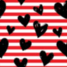 Black Heart Stripes