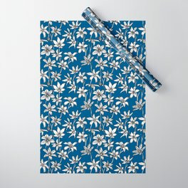 Blue Glory of the Snow Wrapping Paper