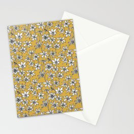 Mustard Glory of the Snow Stationery Card