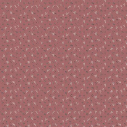 Pink Floral Branches Fabric