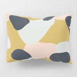 Making Marks Layered Shapes Pillow Sham