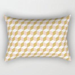 Making Marks Cube Illusion Light Rectangular Pillow