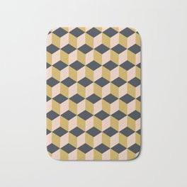 Making Marks Cube Illusion Dark Bath Mat