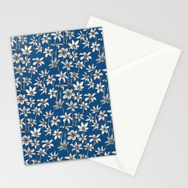 Blue Glory of the Snow Stationery Card