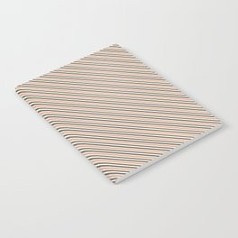 Making Marks Diagonal Stripes Notebook