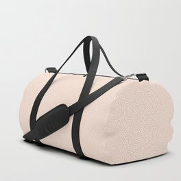 Making Marks Textured Surface Pink White Duffle Bag