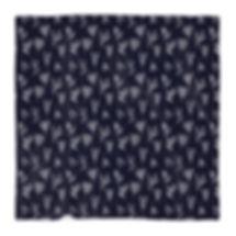 Navy/White Branches Blanket