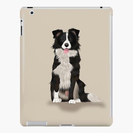 Border Collie iPad Snap Case