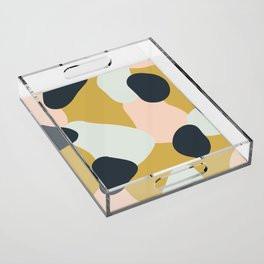 Making Marks Layered Shapes Acrylic Tray