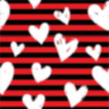 White Heart Stripes
