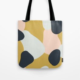 Making Marks Layered Shapes Tote Bag