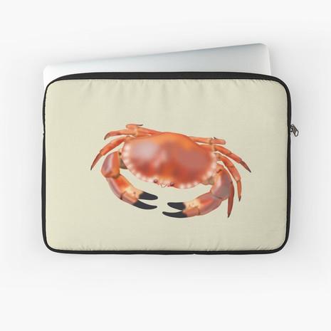 Crab Laptop Sleeve