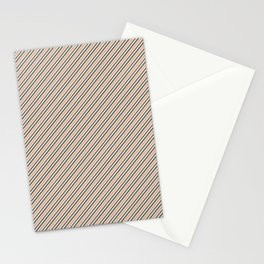 Making Marks Diagonal Stripes Stationery Card