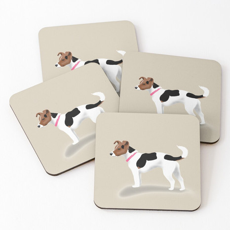 Jack Russell Coasters